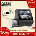 70mai Dash Cam Pro на английском Pro Plus 1944P 70MAI Видеорегистраторы для автомобилей Камера GPS ADAS 140FOV 24 часа в сутки для парковочной системы 70mai Pro Plus A500S