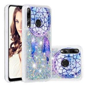 Image 5 - Telefono Cellulare di lusso Custodie Per Huawei P20 Lite Honor 10i 8A 8S Y7 Y6 Y9 Pro Prime Godere 9 Caso glitter Liquido Sabbie Mobili Del Respingente di TPU Coque