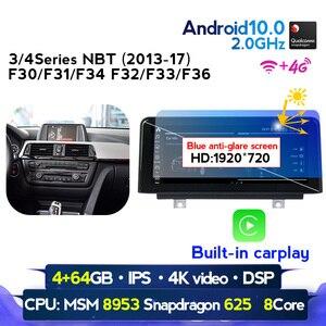 European warehouse! Android 10 CAR DVD radio player for BMW F30/F31/F34/F20/F21/F32/F33/F36 NBT Multimedia GPS Navigation