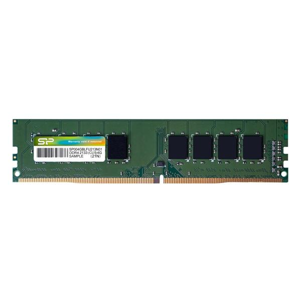 RAM Speicher Silicon Power SP004GBLFU213 <font><b>4</b></font> GB <font><b>DDR4</b></font> <font><b>2133</b></font> MHz image