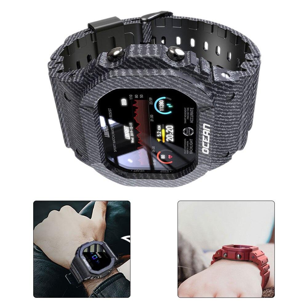 cardíaca pressão arterial inteligente relógio de pulso para android ios
