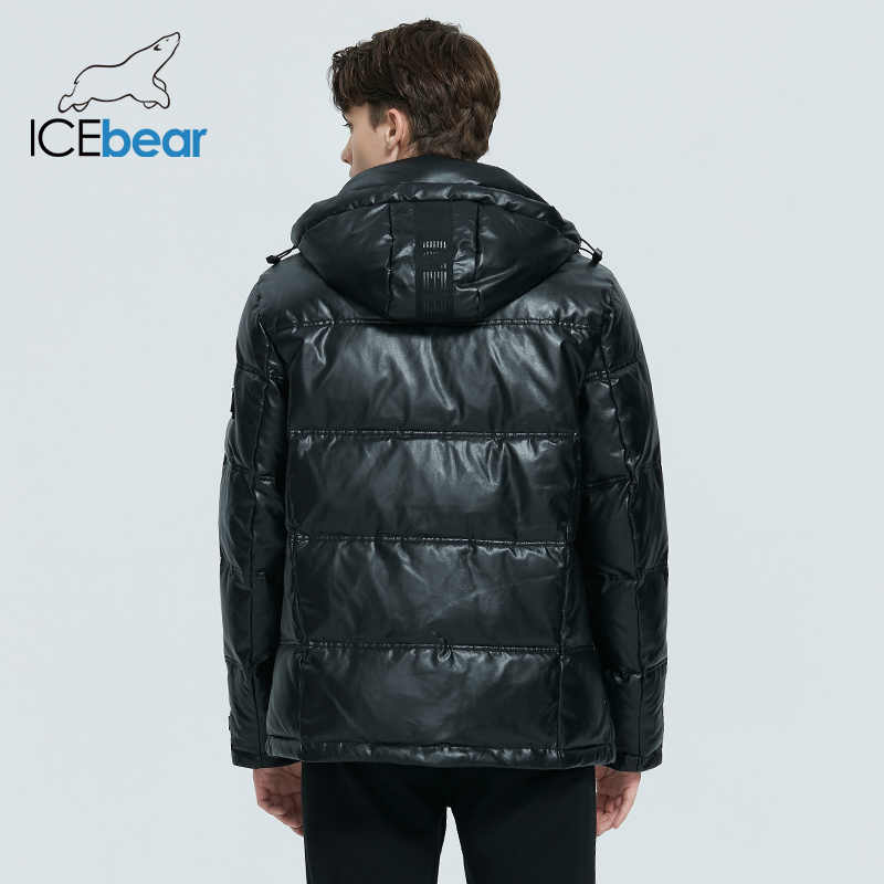 ICEbear 2020 겨울 자켓 남성 겨울 코튼 패딩 자켓 통기성 두껍고 따뜻한 남성 캐주얼 코트 MWD20866D