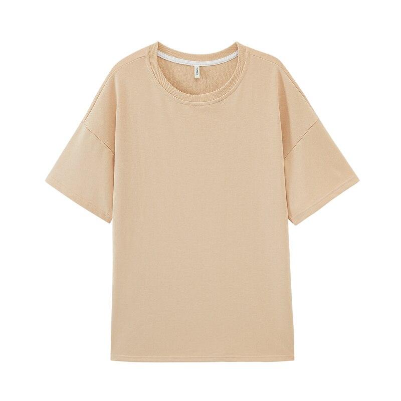 toppies summer oversized t-shirts two piece set womens short set loose tops high waist shorts cotton long shirts 3