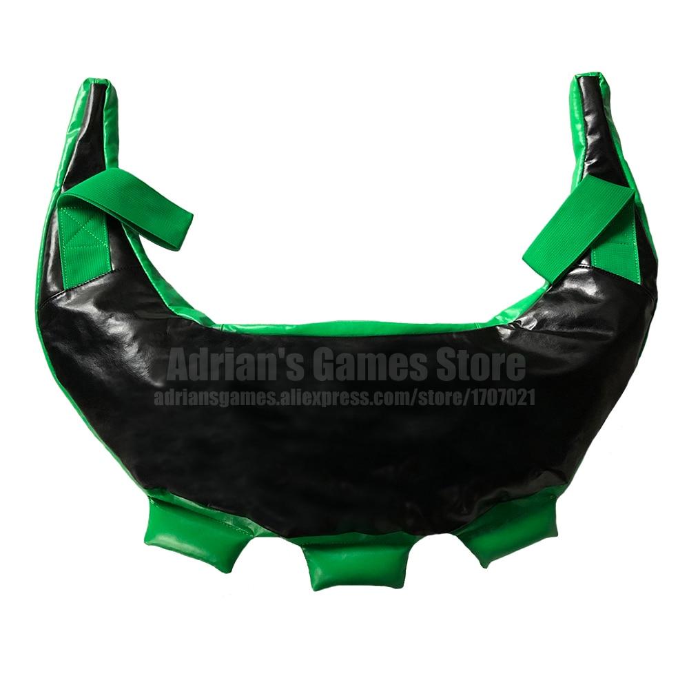 2020 New Black Green Bulgarian Bag Crossfit Power Bag 25KG Max Fitness Gym Sandbag Muscle Training Heavy Duty