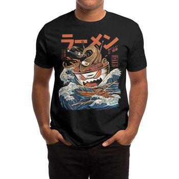 The Dark Great Ramen T-Shirt Ukiyo Cotton O-Neck Short Sleeve Mens T Shirt New Size S-3XL