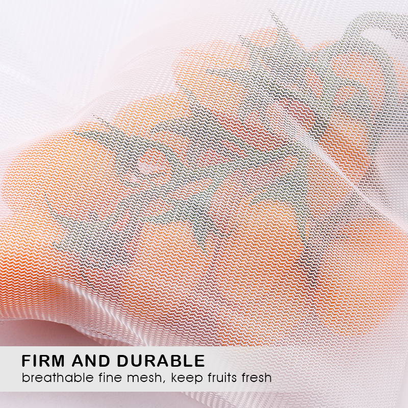 5pcs Colorful Reusable Fruit Vegetable Bags Net