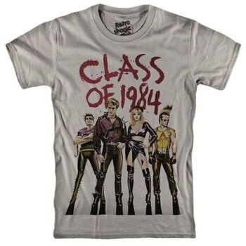 Camiseta de Clase de 1984, farmacia, Alice Cooper, somos el futuro, Michael...