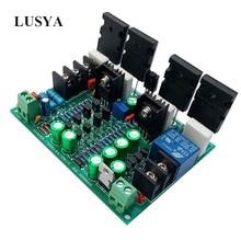 Lusya 클래스 a1943/5200 디지털 앰프 보드 200 w 모노 hifi 발열 클래스 순수 전력 amplificador A9 009