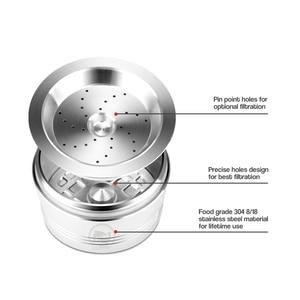 Image 5 - ICafilas ידידותית לסביבה נירוסטה STEE K דמי & Caffitaly Refilable מסנן לחבל לשימוש חוזר קפה כמוסה Fit Tchibo מכונת