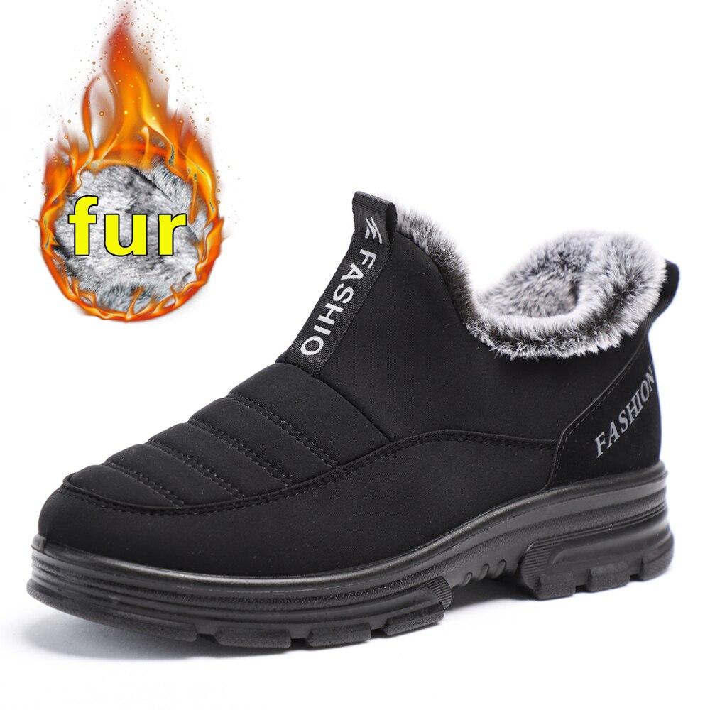Femmes bottes bottes de neige femme en peluche bottes d