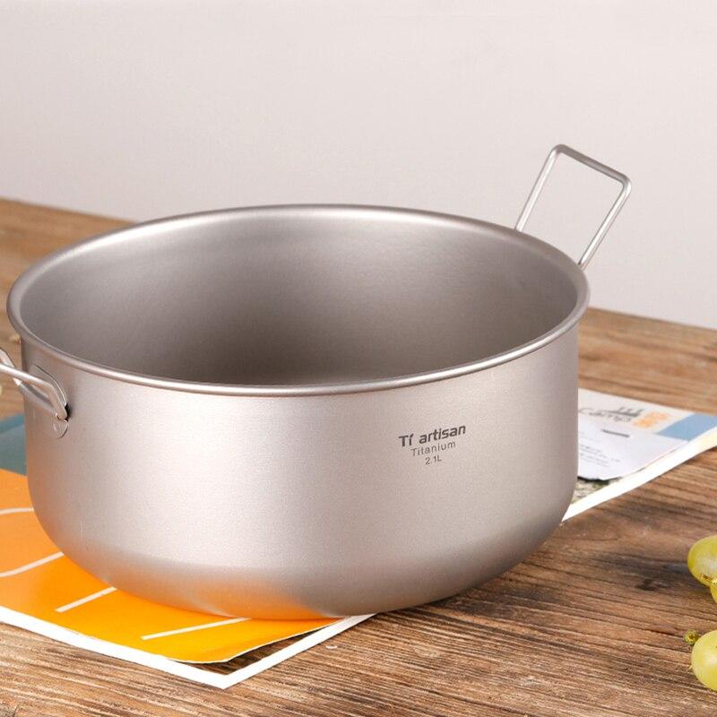 puro grande tigela sopa pote para acampamento