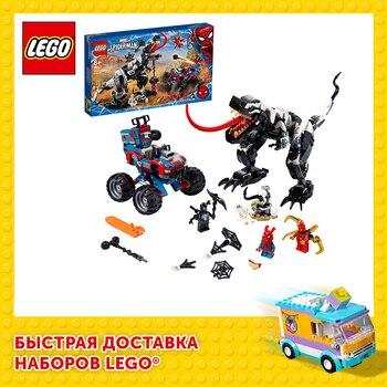 Конструктор LEGO Marvel Super Heroes Человек-Паук: Засада на веномозавра 1