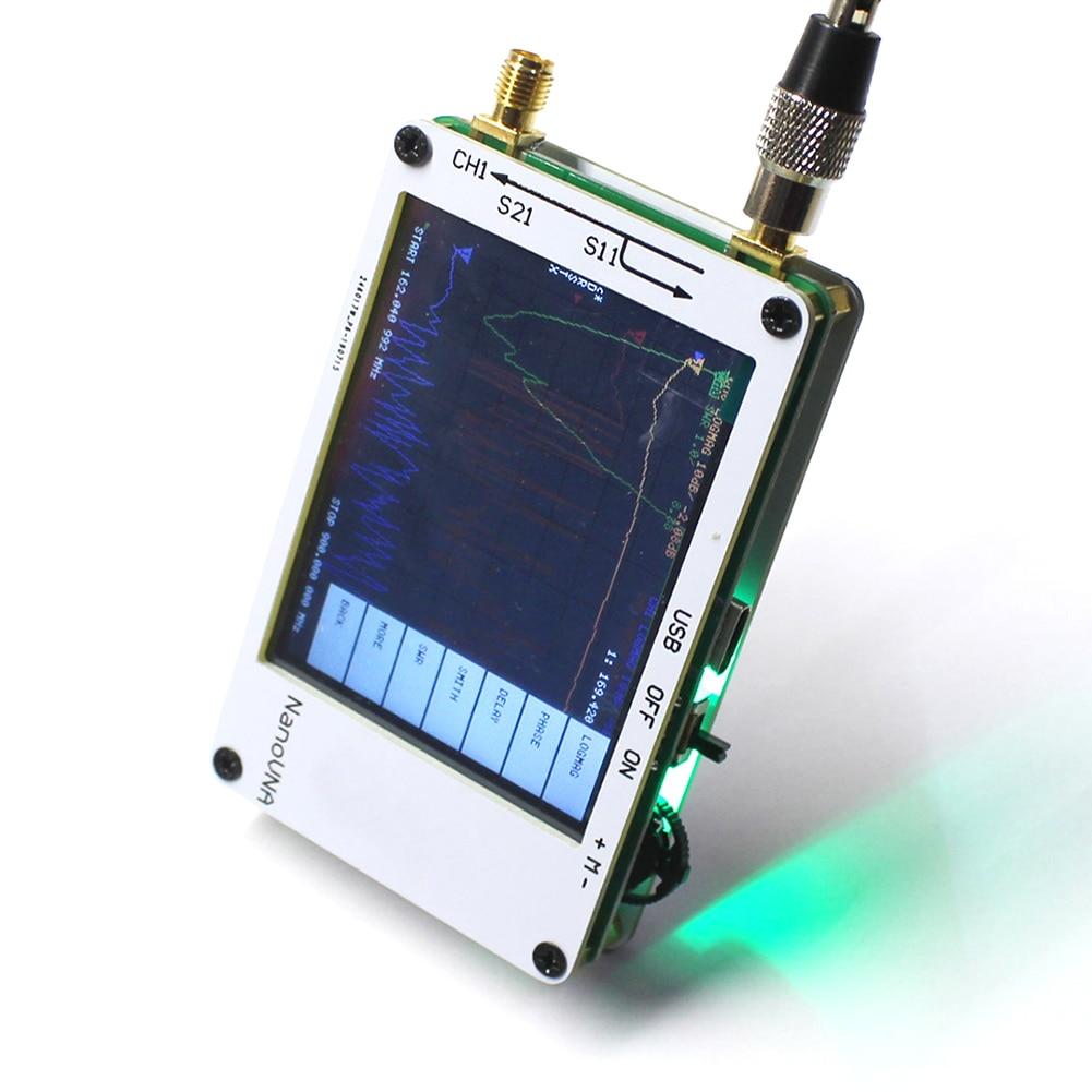 Kurzwelligen UHF Elektronische VHF MF Digital Display Professionelle Netzwerk Analysator Mess Standing Wave 50KHz - 900MHz Antenne HF