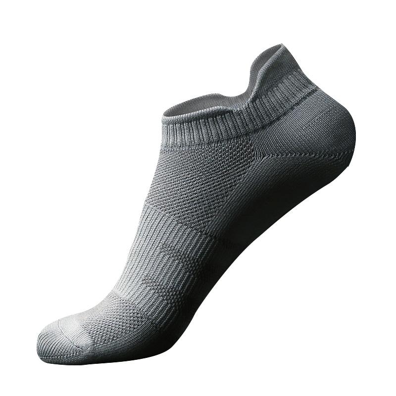 Sports Ankle Socks Quick Drying Anti-slip Stretch Hosiery Outdoor Marathon Running Footwear Women And Men 1PC