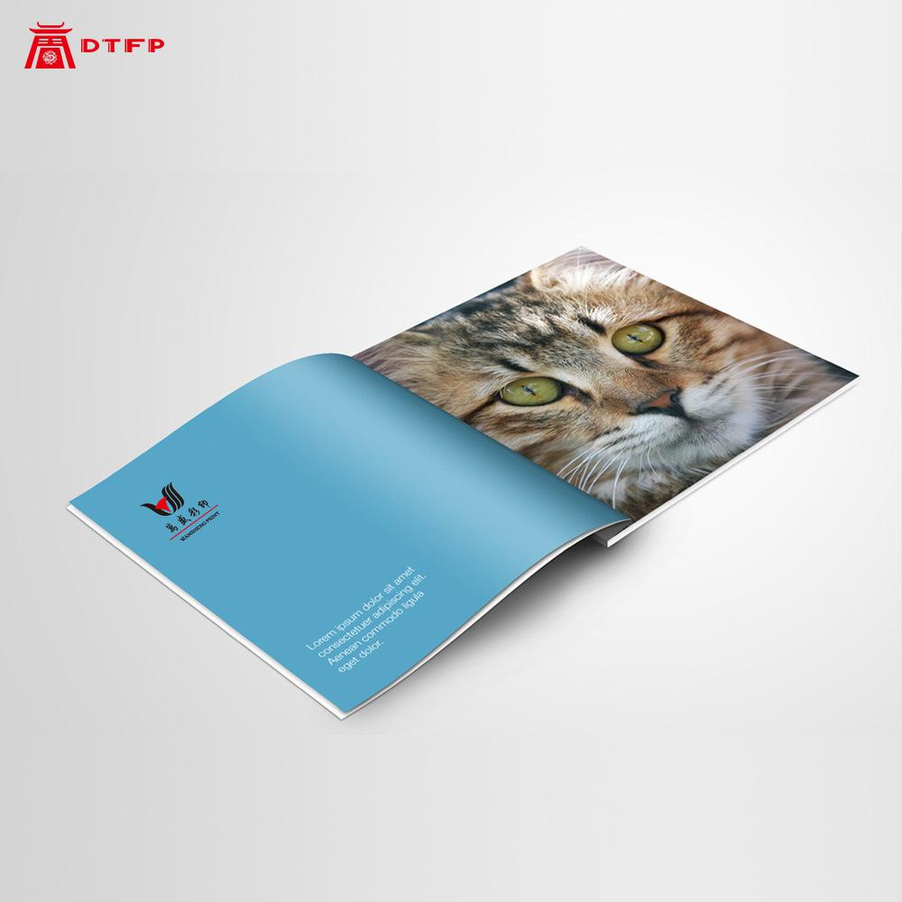 High-end Company Advertising Custom Book Printing Brochure Booklet