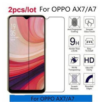 Tempered Glass For OPPO AX7 Premium 2.5D Screen Protector Film For OPPO AX7 CPH1901 CPH 1901 OPPO AX 7 A7 Protective Film Glass image