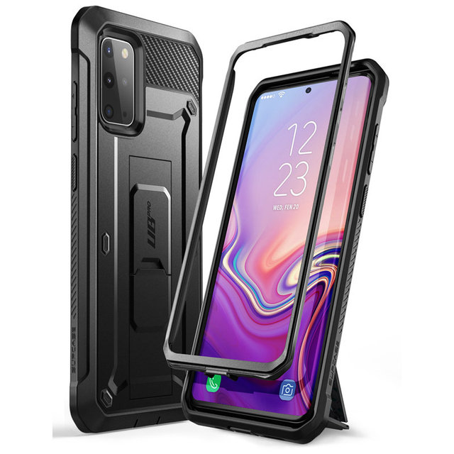Für Samsung Galaxy S20 Plus Fall/S20 Plus 5G Fall SUPCASE UB Pro Full Körper Holster Abdeckung OHNE Gebaut in Screen Protector
