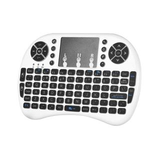 Dry power version i8 keyboard mini wireless 2.4g wireless touch computer keyboard backlit air flying mouse keyboard