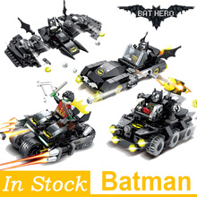 Super Heroes Model Building Blocks Batman Race Truck Car Classic DIY Figures Toys Gifts for Children Kids super heroes avengers batman race truck car model technic building block sets diy toys compatible with legoingly batman