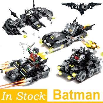 Super Heroes Model Building Blocks Batman Race Truck Car Classic DIY Figures Toys Gifts for Children Kids dr tong 80pcs glory of kings figures one of china romance the three kingdoms king knight heroes building blocks toys gifts 29001