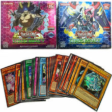 216Pcs Yugioh Cards English Version Trading Flash Cards Collection Booster Anime Yu Gi Oh Map Playing Game Card Kids Toy Gift