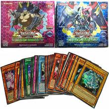 Yugioh – Collection de cartes Flash Version anglaise, 216 pièces, Booster, Anime Yu Gi Oh, carte de jeu, jouet pour enfants, cadeau