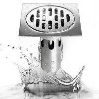 Desagüe de cocina de acero inoxidable 304, accesorios de ducha, accesorio para Baño