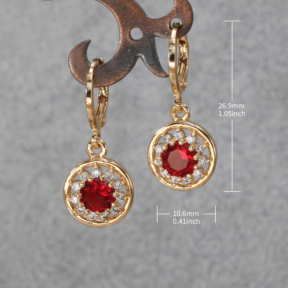 H5d953eec6ccd4b32b8f28c97ad5f202eq - Trendy Vintage Drop Earrings For Women Gold Filled  Red Green Pink Lavender Zircon Earrings Gold  Earring Wedding  Jewelry