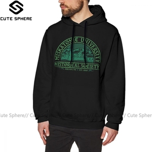 Arkham Horror Hoodie Miskatonic Historical Society Hoodies Red Outdoor Pullover Hoodie Long Sleeve XL Cool Cotton Mens Hoodies(China)