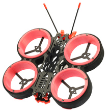 skystars Angela V2 3 Inch 168mm Cinewhoop Carbon Fiber Frame Kit withDuct for FPV