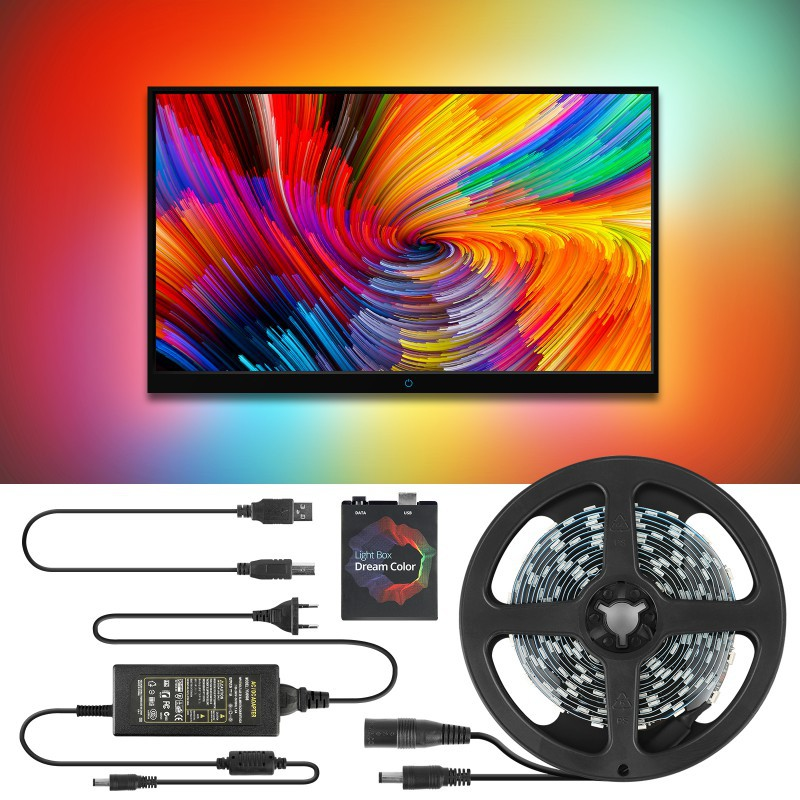 Home LED TV Backlight Strip Tv Led Lighting With Remote Control USB Ambilight Lights