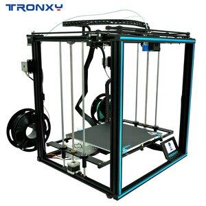 Image 5 - Yeni Tronxy X5ST 500 2E/X5SA 400 2E/X5SA 2E büyük 3D yazıcı 2 In 1 Out çift renk ekstruder Cyclops tek kafa