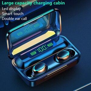 F9 TWS 5.0 Bluetooth Earphone