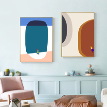 Nordic Poster Abstract Canvas Art Print Cartoon Modern Wall Painting Decoration Pictures for living Room Scandinavian Home Decor
