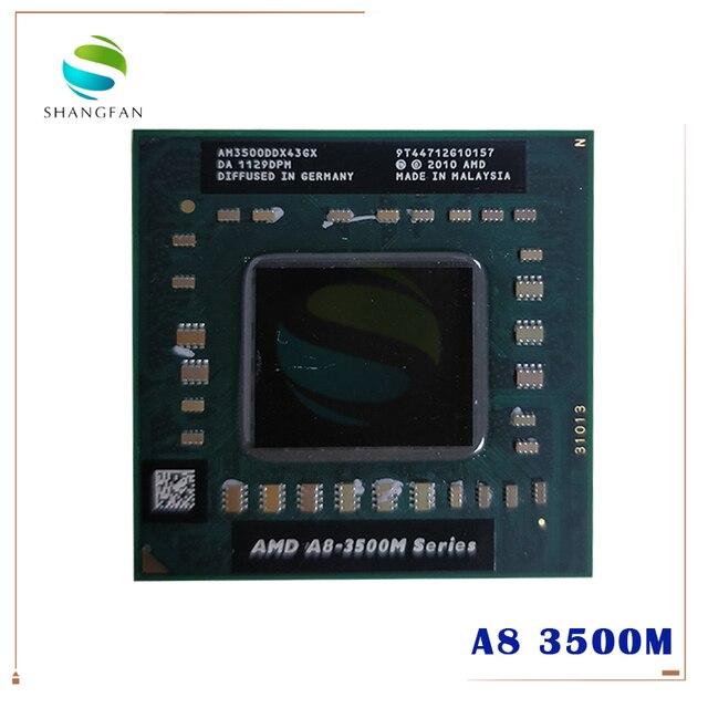 AMD Quad Core A8 3500M 1.5Ghz/4M Socket FS1 A8 3500M AM3500DDX43GX A8 Series notebook APU Notebooks laptop