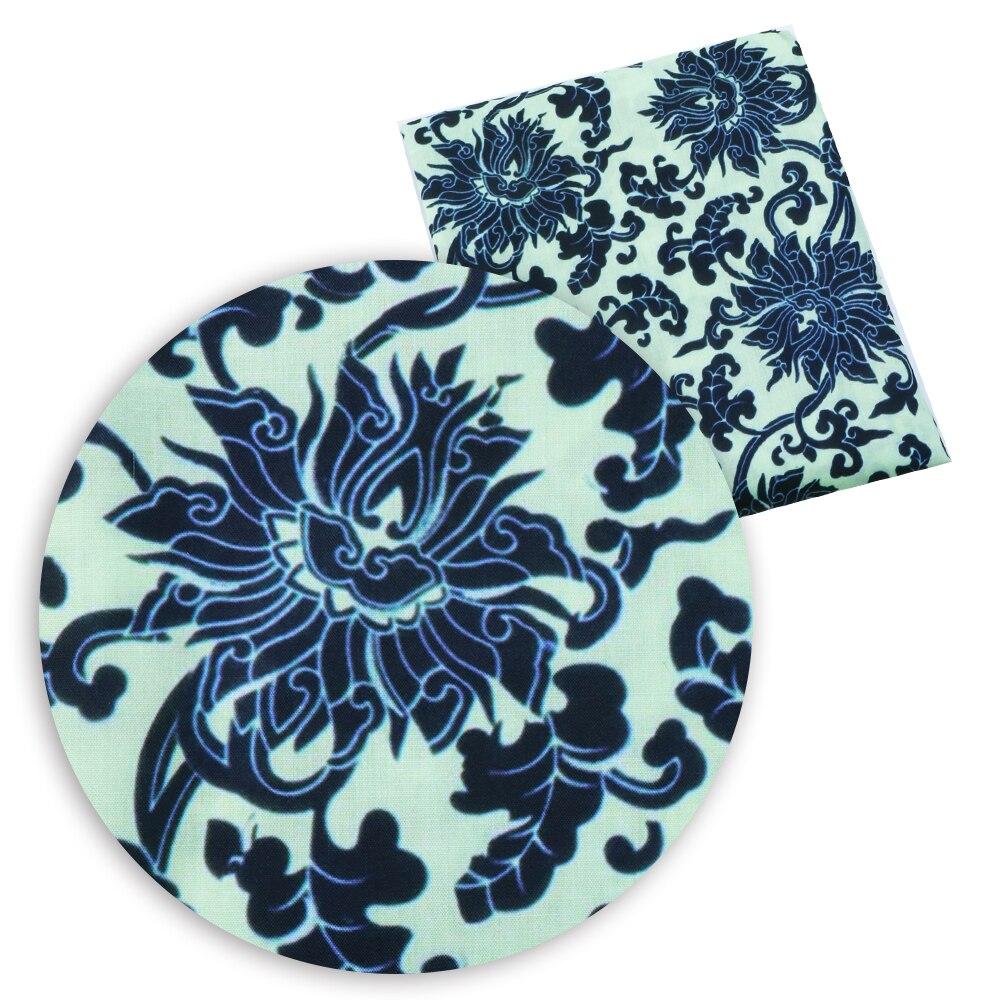 50*140 см мультфильм дизайн полиэстер хлопок ткань для ткани дети девочки платье Домашний текстиль для шитья ремесла, c2445 - Цвет: 1054876001