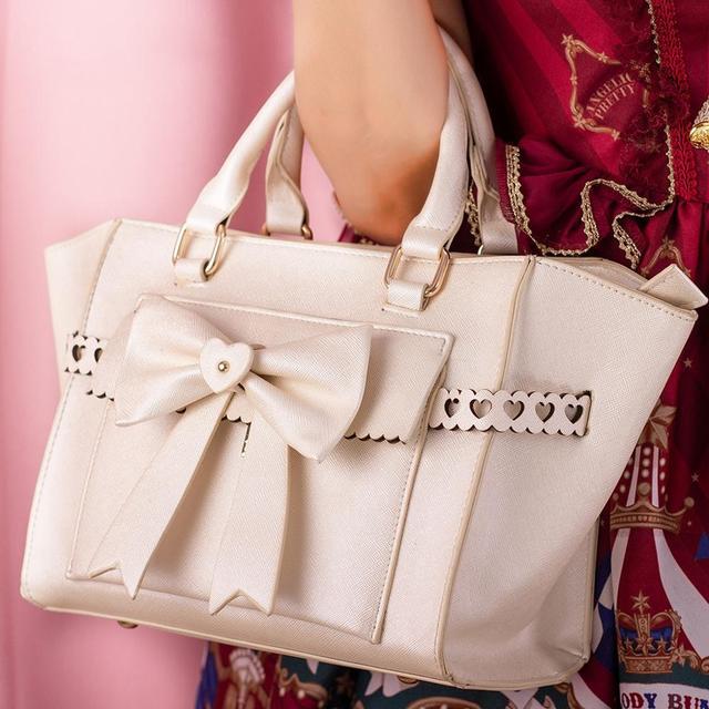 Фото милая сумка в стиле лолиты с милым бантом женская kawaii повседневная цена