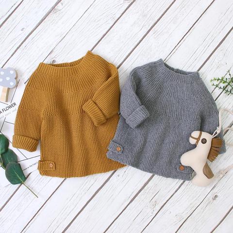 sueter infantil de malha puloveres de malha lisa para meninos e meninas blusas para recem