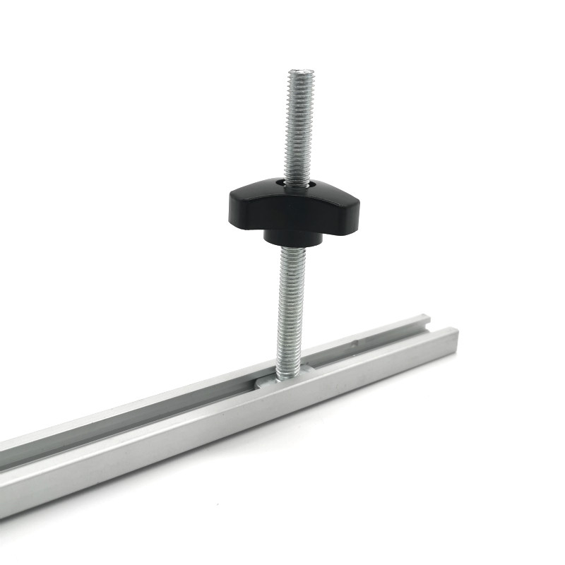 Aluminium Alloy T-slot Slide Track T-tracks Miter Track For Woodworking Saw/Router Table Workbench Tools Type-19
