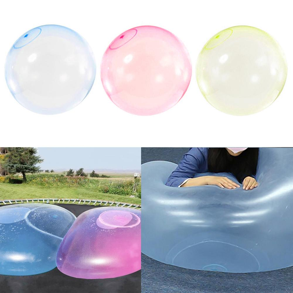 Outdoor Air Filled Soft Air Bubble  For Kids Size L S M Balloon Toy Funny Party Game Kids Gift Inflatable Gift