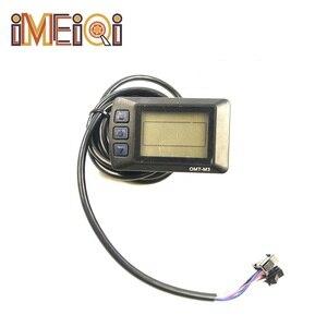 IMEIQI аксессуары для электровелосипеда 36/48 в JN ЖК-OMT-M3 интеллектуальный дисплей для электровелосипеда