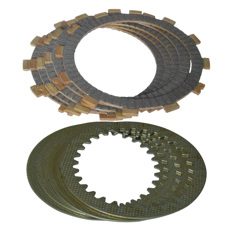 NEW High Quality Clutch (5pcs Friction Plates+4pcs Iron Disc) Clutch Set For SUZUKI GS125 EN125 GN125 GS 125 EN 125 GN 125 image
