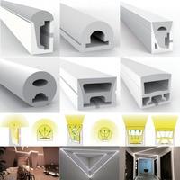 WS2812B WS2811 WS2813 WS2815 5050 LED Neon Seil Rohr Silikon Gel Flexible Streifen Licht Weichen Lampe Rohr IP67 Wasserdicht