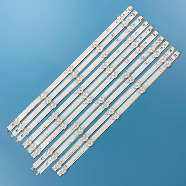 "10 Pieces/lot For LG New LED strips 42"" ROW2.1 REV 0.0 1 L1 TYPE 6916L 1385A 6916L 1386A 6916L 1387A 6916L 1388A"