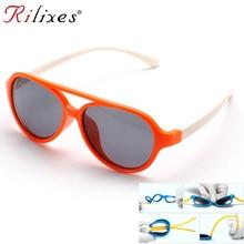 Роскошные бренды TAC очки Детские поляризованные мальчики девочки дети спортивные очки УФ Защита Oculos De Sol Gafas