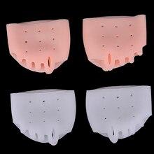 Orthèse orthopédique en Silicone à cinq trous, outil de soin des pieds en nid d'abeille, Hallux Valgus, orthèse correctrice du pouce, 1 paire