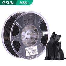 eSUN 3D Printer Filament 1.75mm 1KG ABS+ 3D Plastic Printing Filament 2.2 LBS Spool 3D Printing Material for 3D Printer