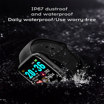Y68 Smart Watch Men 2021 Smartwatch Heart Rate Blood Pressure Sleep Motion Tracking Monitoring Smart Bracelet for Android IOS 4