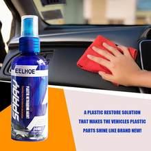 30ml peças de plástico recauchutagem restaurar agente cera instrumento reduzindo agente acessórios do carro auto interior do carro mais limpo interior do carro