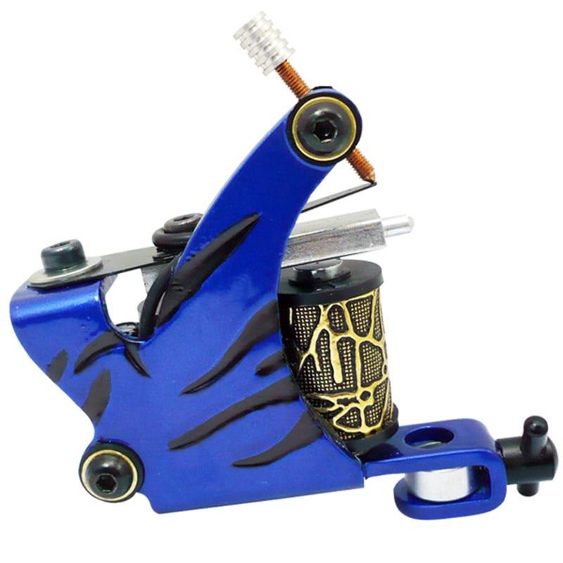 Profession Tattoo Gun Machine For Liner Shader 8 Wraps Coils Handmade Tattoo Machine Artist Basic Starter Motor Gun for Body Art in Tattoo Guns from Beauty Health
